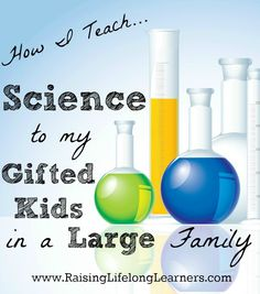Science is a fabulous subject for gifted kids -- discovery exploration questioning. and it's imperative for our kids to see themselves as scientists. Science Curriculum, Preschool Science, Science Resources, Science Fair, Teaching Science, Science For Kids, Science Activities, Science Projects, Science Experiments