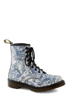 My So-Toile Life Boot, #ModCloth - Great , different Doc Martens