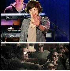 now that its official that they will have a 3D movie..this will be me in theater. I'm honestly pretty sure I'm gonna start running to the front lolol.