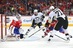 March 1, 2016 at Washington: Evgeni Malkin gets the Penguins on the board early in the first period. Final score, 3-2 Capitals.
