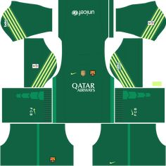 kit-barcelona-dls16-uniforme-goleiro-casa-15-16 Soccer Kits, Football Kits, Barcelona Fc, Soccer League, Gabriel, Pasta, Times, Projects, Football Jerseys
