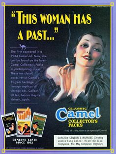 Vintage Women Smoking Ads | Keywords: Woman, female, luxury, sophisticated, glamour, collector