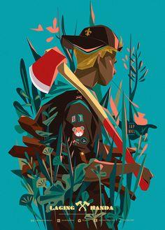 Laging Handa Troop on Behance Love Illustration, Digital Illustration, Character Art, Character Design, Filipino Art, Philippine Art, Fan Art, Illustrations And Posters, Painting