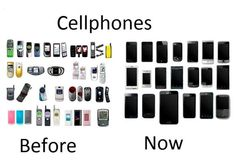 Cellphones Before Now