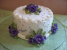 bolo decorado com chantilly - Pesquisa Google