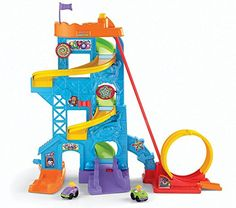 Fisher-Price Little People Loops 'n Swoops Amusement Park Playset