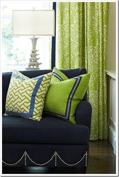 #almofadas #cortina #greenery