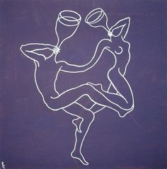 Dance by Lia Chechelashvili, original is in private collection, prints available from $50