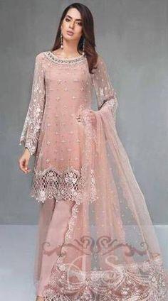 Zainab Chottani Chiffon Suit, Ladies Suits Online, Replica Designer Dresses.