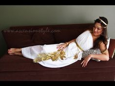 What The Greek?: FASHION : DIY // Greek Goddess Costume