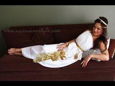What The Greek?: FASHION : DIY // Greek Goddess Costume