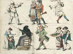 carnaval de rome 1810 - Buscar con Google