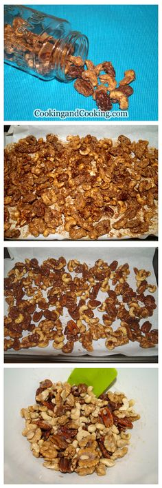 Cinnamon Sugar Candied Nuts Recipe