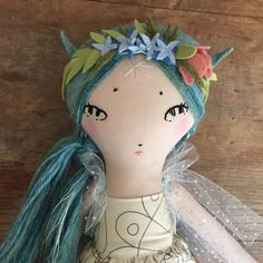 A personal favorite from my Etsy shop https://www.etsy.com/listing/234670224/reserved-blue-fairy-special-order