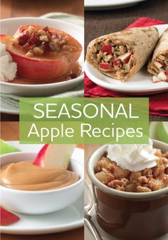 Apple lovers: Check out these super-simple and super-delicious entrées, sides, and desserts with crisp, fresh apples as the star ingredient.