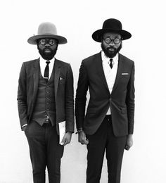 To know more about Art comes first -Shaka Maidoh and Sam Lambert, visit Sumally, a social network that gathers together all the wanted things in the world! Dapper Gentleman, Gentleman Style, Sharp Dressed Man, Well Dressed, Street Looks, Street Style, Dandy, Funky Hats, Mode Style