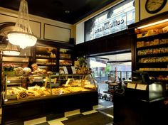Typical Milanese cafe, bar, bakery and gourmet shop in 1 - Caffe Milano in Milan.
