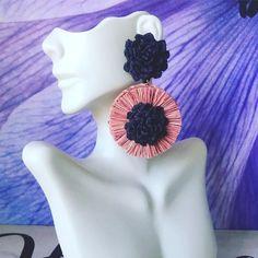 Vintage Womens Boho Hippy Fashion Party/ Iraca Earrings/Handmade/Jewelry /Ar    eBay Earrings Handmade, Handmade Jewelry, Hippy Fashion, Handmade Products, Hippie Boho, Vintage Ladies, Crochet Earrings, Fiber, Party