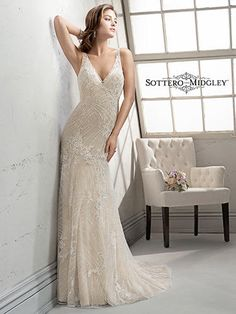 Sottero and Midgley by Maggie Sottero Vogue-4SK934  Sottero and Midgley Collection Oliverio's Bridal and Prom Boutique Clarksburg, WV 26301