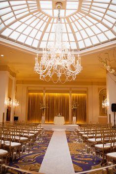 Classic Ballroom Wedding at The Mayflower Renaissance Hotel in Washington, DC