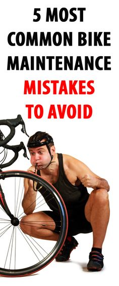 Bike maintenance can seem tricky, but if you avoid these mistakes your whole riding experience could be changed. Plus, its one less visit to the bike mechanic…   #bike #cycling #bikemaintenance
