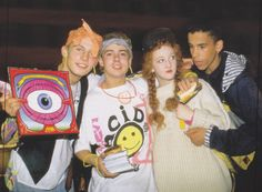 Acid House ppl, London, 1988