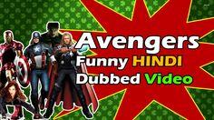 THE AVENGERS Funny  Dubbing Hindi - Desi Tadka   18+ Funny Hollywood