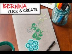 BERNINA Click and Create   Composition Cover Up B 880