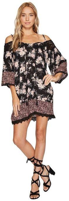 Angie Cold Shoulder Dress