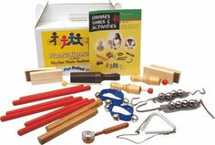 Hohner Classroom Rhythm Instrument Set for 15 Players by Hohner. $63.99. This rhythm instrument set includes an assortment of instrument combinations, ideal for accomodating different numbers of players in a classroom.  The assortment has been carefully selected to provide a wide range of rhythm, timbre and pitch.  The set includes a handy corrugated storage box with a built-in handle.  Contents:  2 pair - Sand Blocks 1 - Single Jingle Tap 1 - Crow Sounder 2 - Ankle Bells 2 - ... Rhyming Activities, Rhymes Songs, Tambourine, Music For Kids, Music Classroom, Percussion, Musical Instruments, Crow, Numbers