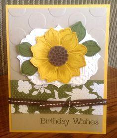 Stampin' Up! Birthday by Krystal De Leeuw