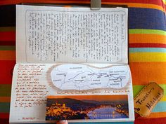Annulation de voyage by isasketch, via Flickr Traveller's notebook