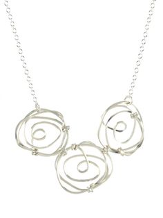Rosebud Necklace by Peggy Li Creations