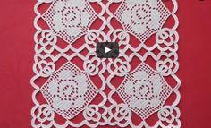 available for sale Filet Crochet, Crochet Doily Diagram, Crochet Lace Edging, Crochet Motifs, Crochet Chart, Irish Crochet, Crochet Doilies, Crochet Stitches, Crochet Home