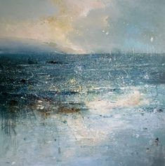 Claire Wiltsher(British), Obscure Light, Mixed Media