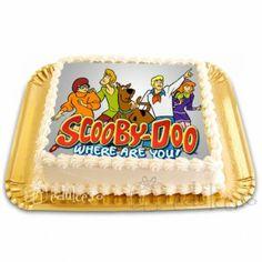 Poza cu Scooby Doo este comestibila! Scooby Doo, Cake, Desserts, Food, Tailgate Desserts, Deserts, Food Cakes, Eten, Cakes