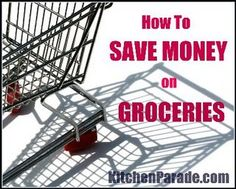 Great tips for saving money