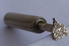 Brass Finishing Tools by Kevin Noakes of Bookbindesigns