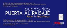 Puerta al Paisaje @ Universidad de Puerto Rico, Río Piedras