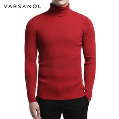 Man Sweaters And Pullovers Turtleneck Long Sleeve Casual Solid Tops Cotton Turtleneck T Shirt, Sweater Shirt, Men Sweater, Formal Sweater, Mens Fashion Wear, Winter Outfits Men, Stussy, Cotton Sweater, Mens Sweatshirts