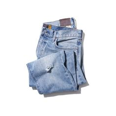 The 6 Pairs Of Jeans You Need This Season ❤ liked on Polyvore featuring jeans, pants, bottoms, blue, denim, blue denim jeans, denim jeans and blue jeans