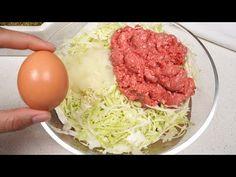 Chiar și bunica a fost uluită după ce a încercat-o! Mai bine decât burgerii! - YouTube Quick Recipes, Brunch Recipes, Beef Recipes, Dinner Recipes, Cooking Recipes, Healthy Recipes, Ground Beef Sausage Recipe, Ground Meat Recipes, Hamburgers