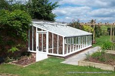 Lean-To Victorian Greenhouse Gallery