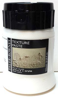 Tekstuuripastalla voidaan luoda kohoumia ja rakennelmia vaikutelmien aikaansaamiseksi. www.itaisenkadunkehystamo.fi