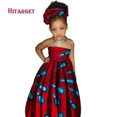 Cheap africa print dresses, Buy Quality africa traditional dresses directly from China traditional african dresses Suppliers: 2017 African Kid's Clothing Girl's Dashiki Traditional Cotton Print Clothing Africa Print Natural Children Dresses Ankara Styles For Kids, African Dresses For Kids, African Children, Latest African Fashion Dresses, African Clothes, Kids Outfits Girls, Girl Outfits, Girls Dresses, Casual Dresses