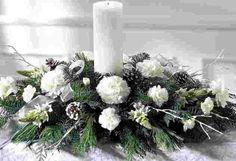 Image detail for -Christmas flower arrangements