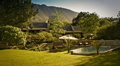 Autumn colours and mountain views - Schoone Oordt, Swellendam, South Africa Victorian Manor, Country Hotel, Outdoor Pool, Front Desk, South Africa, Facade, Swimming Pools, Mansions, Luxury