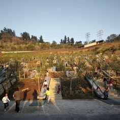 ELEMENTAL Children's Bicentennial Park  Perú, Recoleta, Santiago Metropolitan Region, Chile