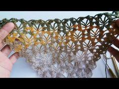 Poncho Crochet, Crochet Stitches, Prayer Shawl, Crochet Necklace, Most Beautiful, Triangles, Inspiration, Youtube, Pattern