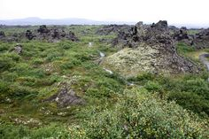 Dimmuborgir Lavafelder, Iceland / Island